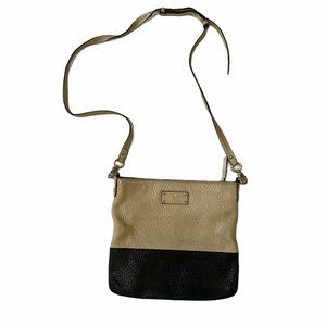 Kate Spade Two-Tone Pebbled Leather Messenger and